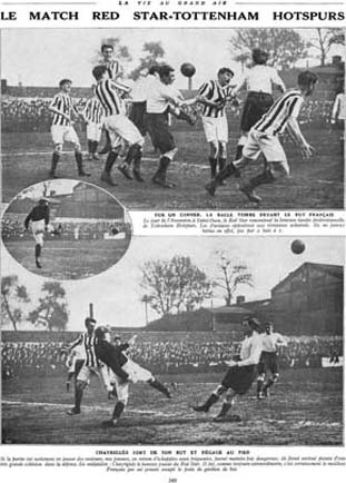Red Star - Tottenham en 1913